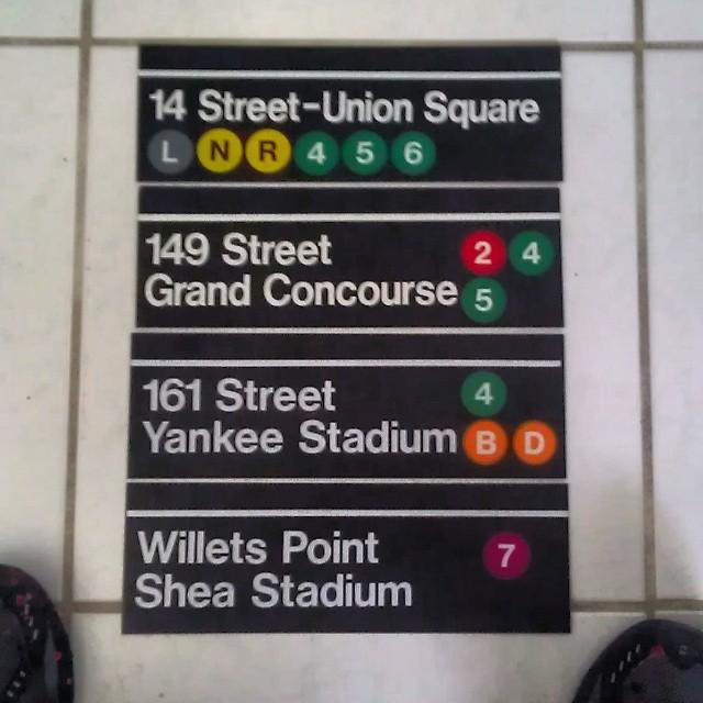 Genuine metal nyc subway system signs #hec1 #Hec #heconelove #hecone #oldschool #nyc #nycsubway